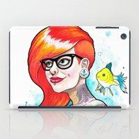 ariel iPad Cases featuring Ariel by Daniel Savoie