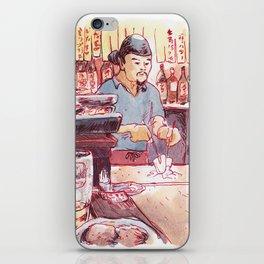 Teppanyaki iPhone Skin
