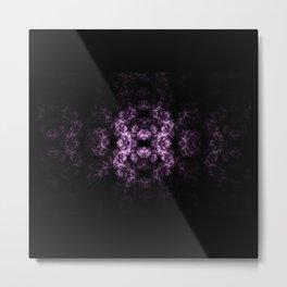 Symmetrical fractal Metal Print