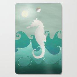 Sea Stallion #Seahorse #Ocean Cutting Board