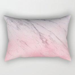 Cotton candy marble Rectangular Pillow