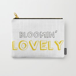 Bloomin' Lovely Carry-All Pouch