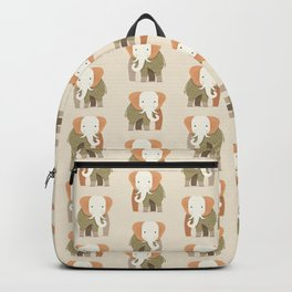 Whimsical Elephant Backpack