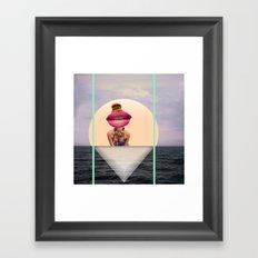 isnotawoman Framed Art Print