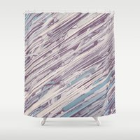 comics Shower Curtains featuring Comics by Joonas Paloheimo