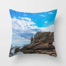 St Pauls Beach Throw Pillow