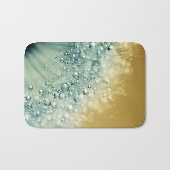 Ocean Blue Dandy Sparkles Bath Mat