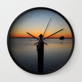 By the Light of the Torch Wall Clock