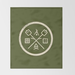 S'mores Society Throw Blanket