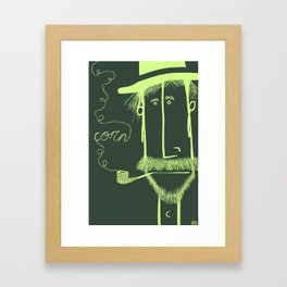 Corn Billy Framed Art Print