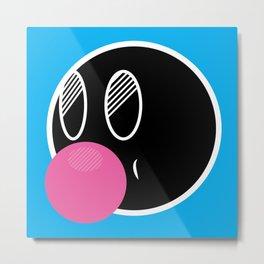 Bubble Gum Mike Metal Print