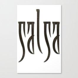 Salsa Fango Ancient Canvas Print
