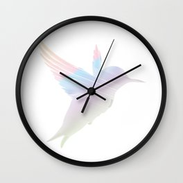 Think Freely and Fly Far Away from birth to everlong... Wall Clock