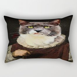 Aristocrati-Cat Rectangular Pillow