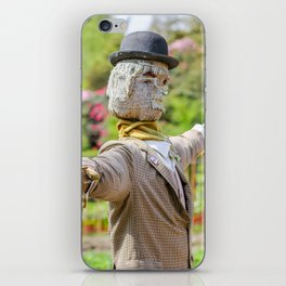 The Lost Gardens of Heligan - Diggory the Scarecrow iPhone Skin