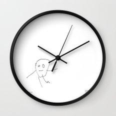 [baby boy] - nadya 3 yr Wall Clock