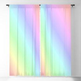 Pastel rainbow Blackout Curtain