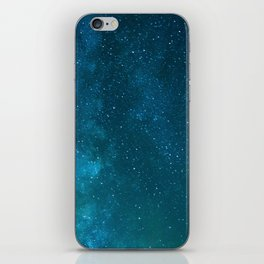 Milky Way Starry Night Photography iPhone Skin