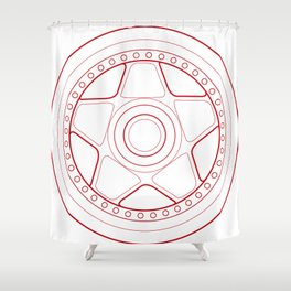 F40 Shower Curtain