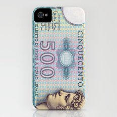 500 lire money note  iPhone (4, 4s) Slim Case