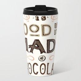 Chocolate lovers Metal Travel Mug