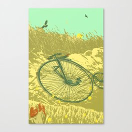 LAZY DAY RIDE Canvas Print