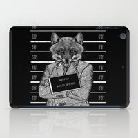 mr fox iPad Cases featuring Mr fox.. by ZefxisJR281