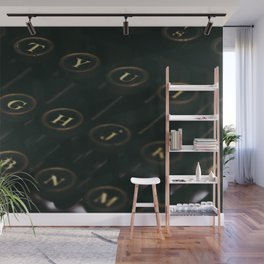 QWERTY Wall Mural