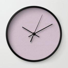 Dim Lilac Wall Clock