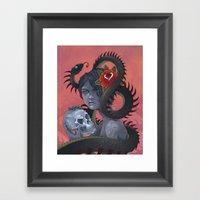 Snake Eater Framed Art Print