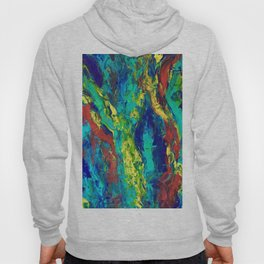 Abstract Color Slide Hoody