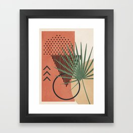 Nature Geometry II Framed Art Print