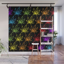 Rainbow Kush Wall Mural