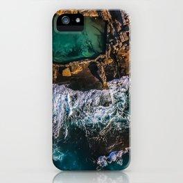 McMahon Rock Pool, Maroubra, Sydney - Australia iPhone Case