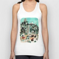 canada Tank Tops featuring Wild Canada by Mathilde George