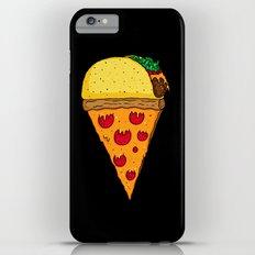 Taco Pizza Cone iPhone 6 Plus Slim Case