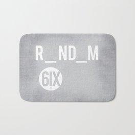 R_ND_M 6IX Bath Mat