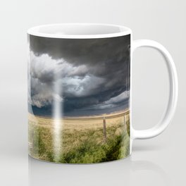Aquamarine - Storm Over Colorado Plains Coffee Mug
