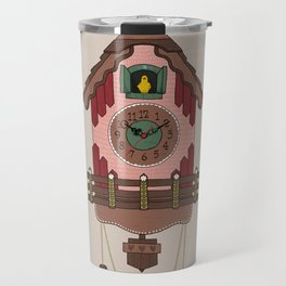 Cuckoo Clock Travel Mug