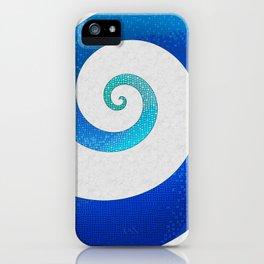 Ocean Waves - Water Mosaic iPhone Case