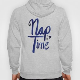 Nap Time | Lazy Sleep Typography Hoody