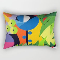Flowers - Paint Rectangular Pillow