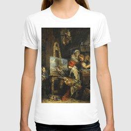 """François Boucher """"The Landscape Painter"""" T-shirt"""