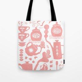 Morning ritual textured print pattern Tote Bag