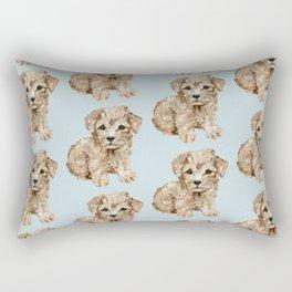 Schnoodle Pups Rectangular Pillow