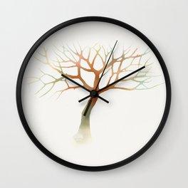 Water Tree Wall Clock