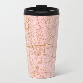 Liverpool map, UK Travel Mug