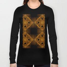 Fractal Art - Tiki Gold 2 Long Sleeve T-shirt