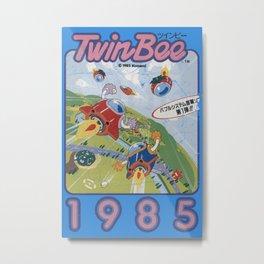 TwinBee Metal Print