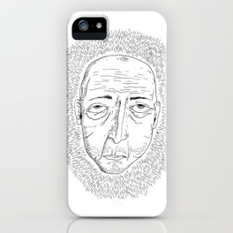 I Don't Like Anyone and Nothing Interests Me iPhone Case